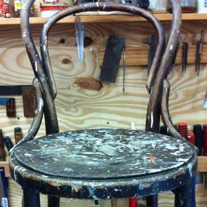 caféstoel voor restauratie