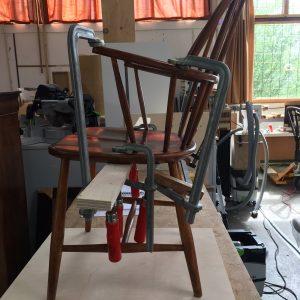 lijmsessie Windsor stoel