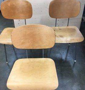 stoelen na restauratie