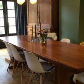 Deense vintage tafel | Patine meubelrestauratie Amsterdam