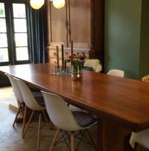 Deense vintage tafel   Patine meubelrestauratie Amsterdam