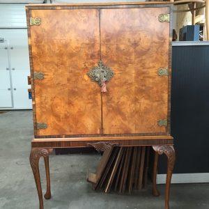cocktail kabinetjena restauratie | Patine Meubelrestauratie
